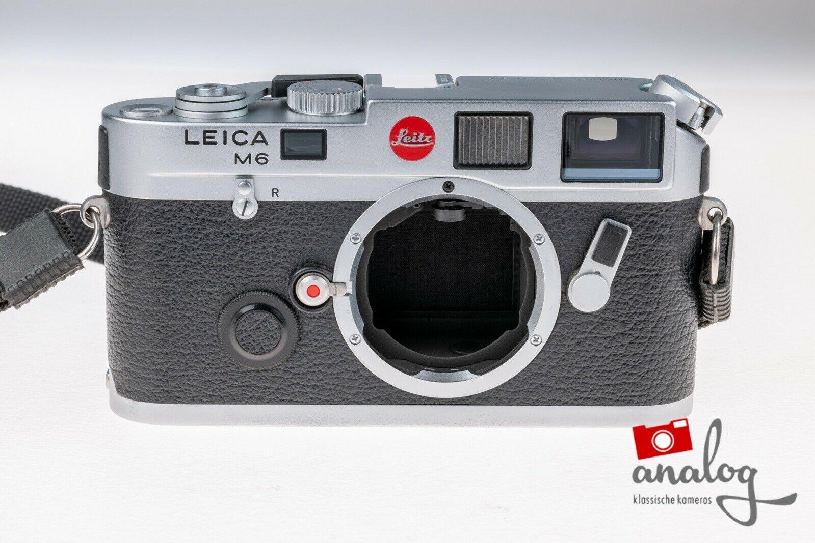 Leica M6 chrome - werkstattüberholt