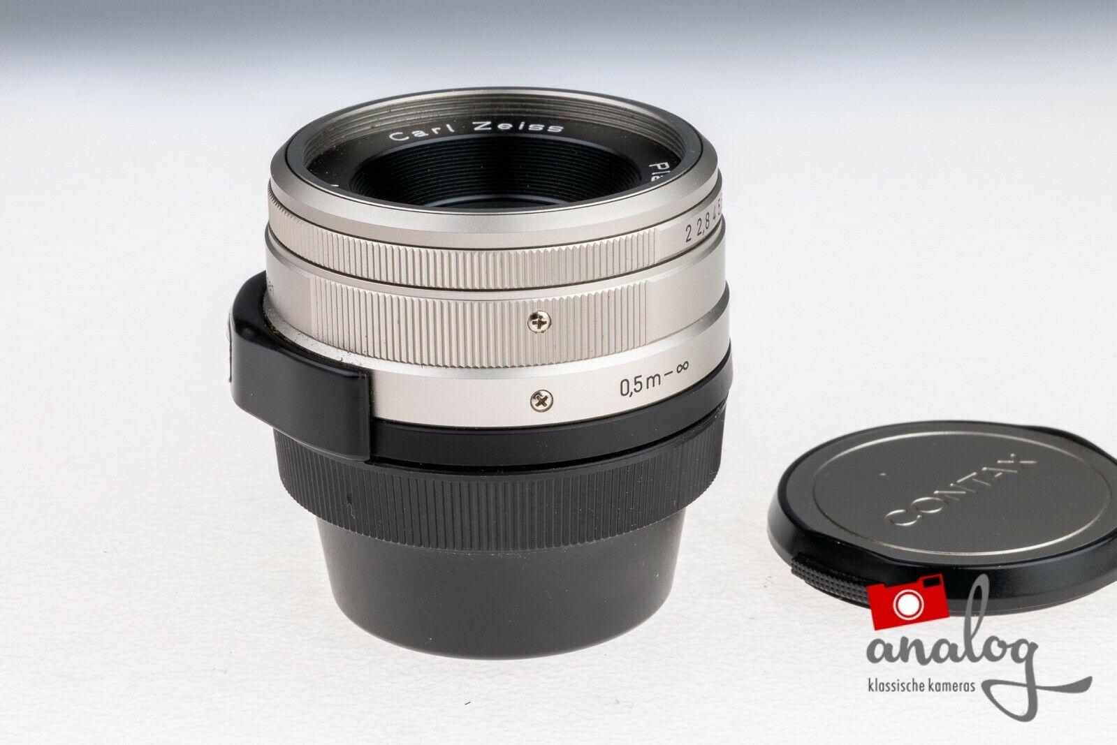 Contax Zeiss Planar 35mm 2.0 für Contax G