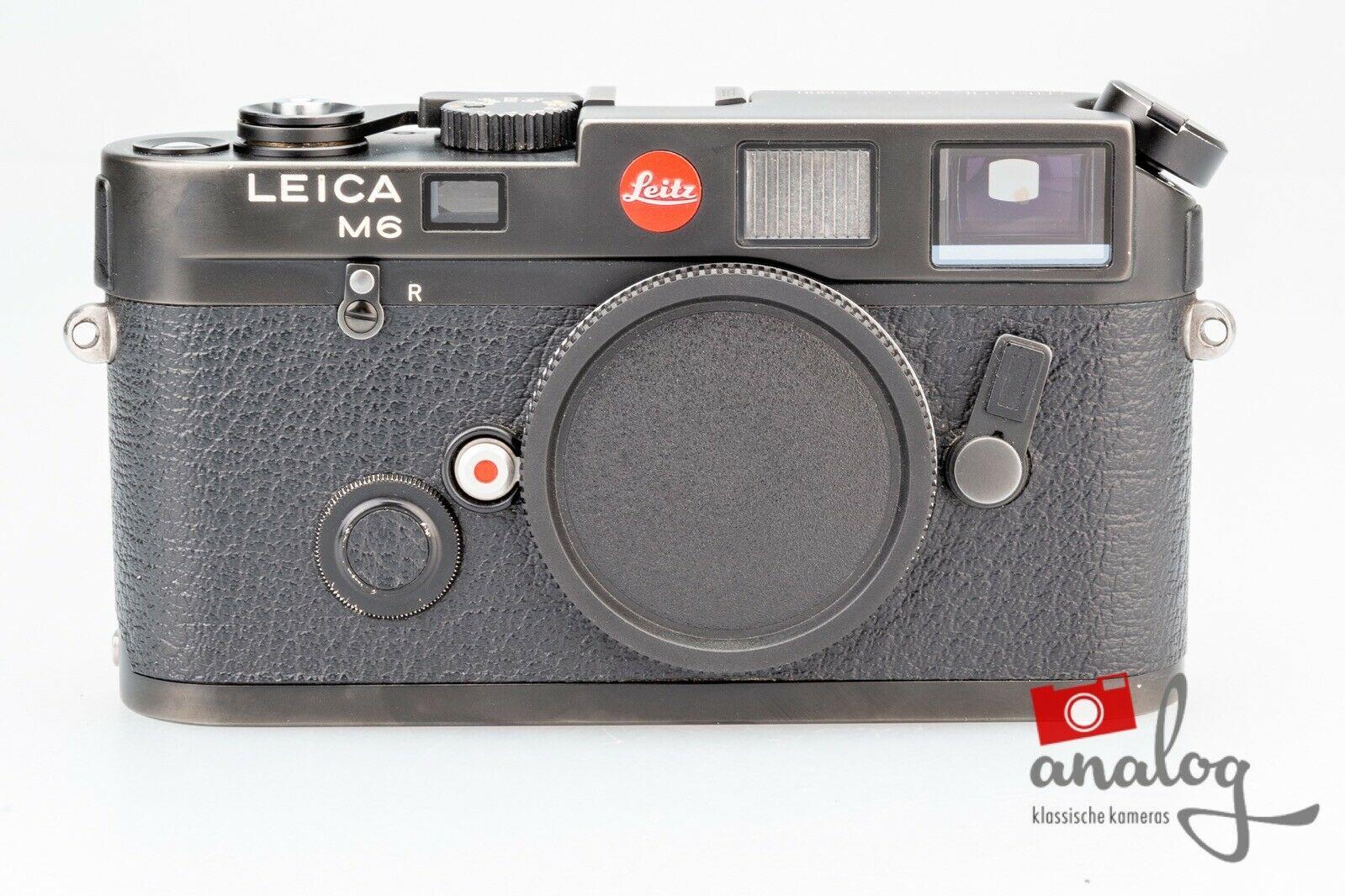 Leica M6 schwarz - werkstattüberholt
