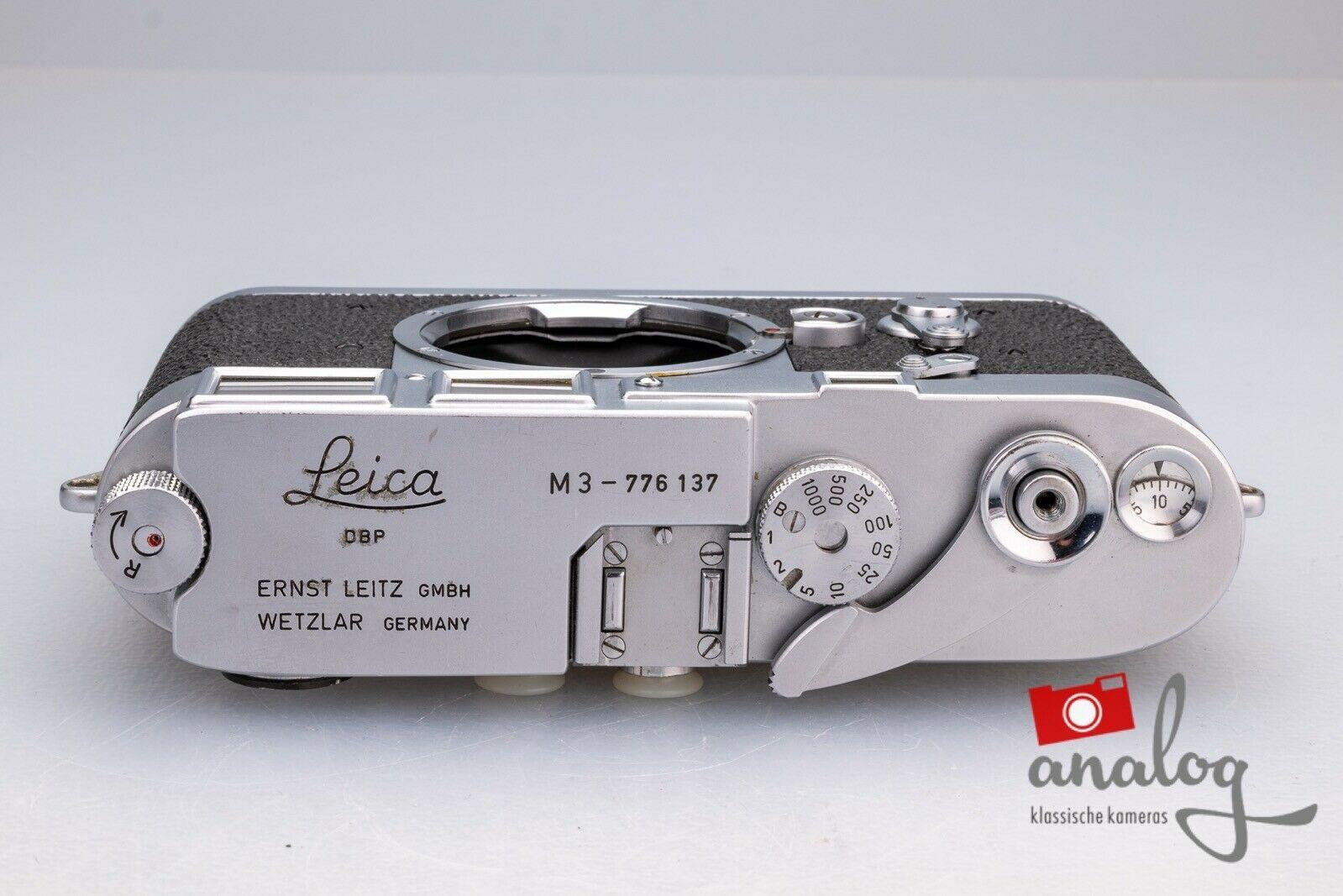 Leica M3 Double Stroke - werkstattüberholt