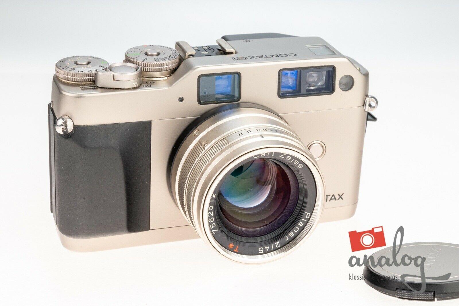 Contax G1 mit Carl Zeiss Planar 45mm 2.0