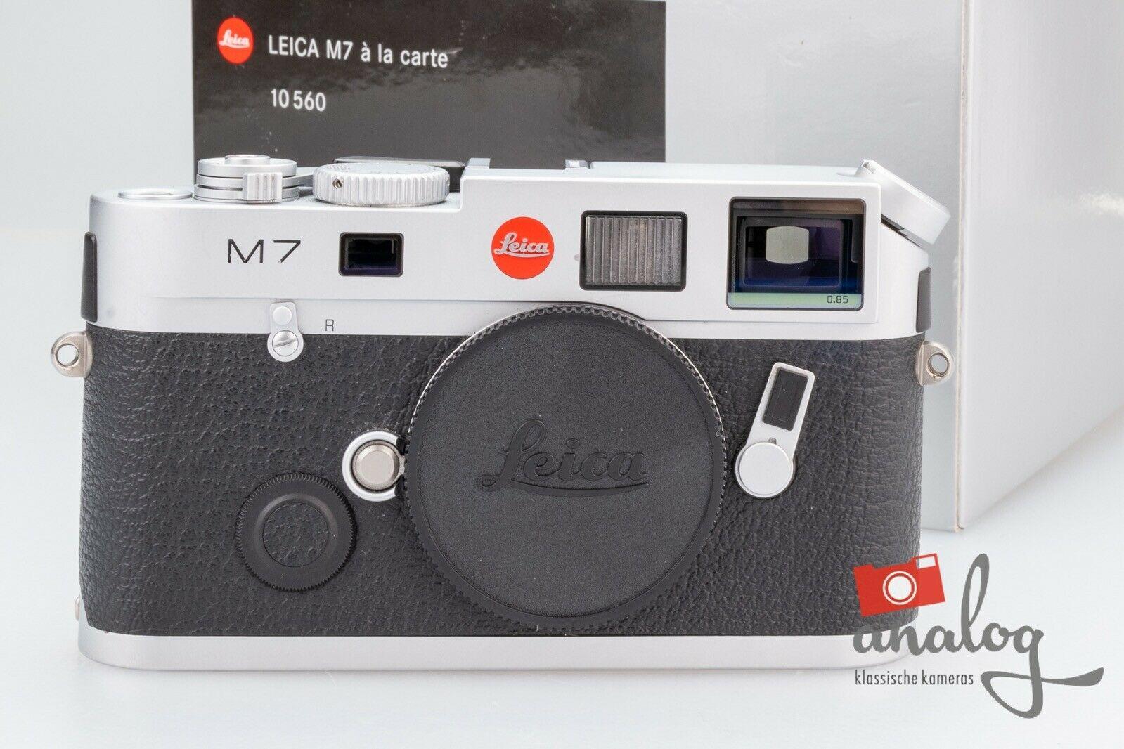 Leica M7 0.85 chrom - á la carte - 10560   Leica Service