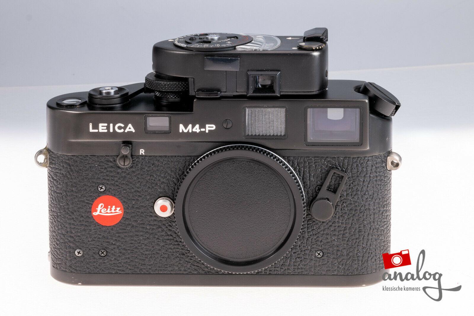 Leica M4-P mit LeicaMeter MR schwarz - werkstattüberholt
