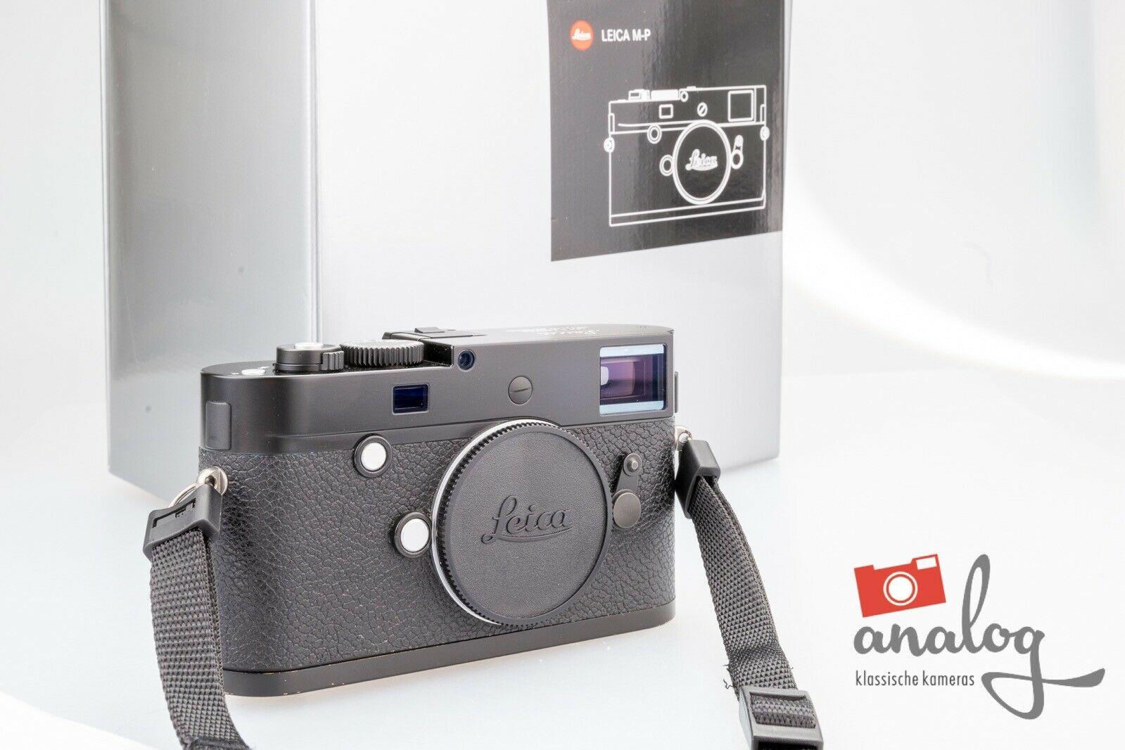 Leica M-P Typ 240 schwarz - 10773 - Leica überholt 01/2020
