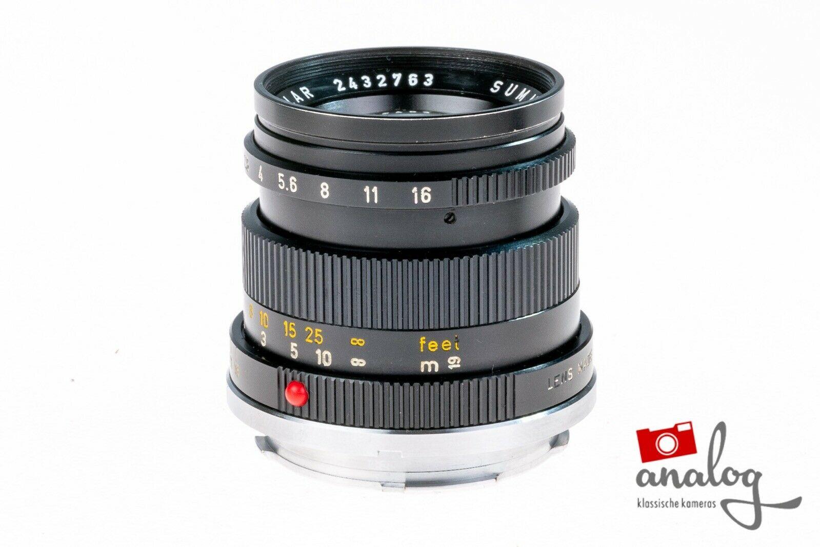 Leica Summicron 50mm 2.0 (II)  - 11817 - werkstattüberholt