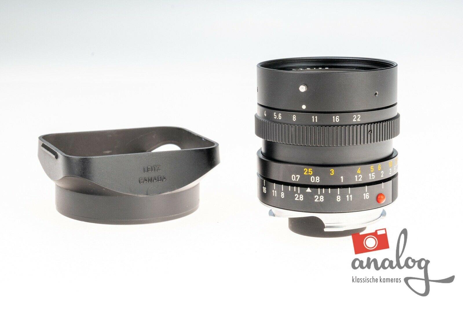 Leica Elmarit-M 28mm 2.8 E49 - 11804 (III) - werkstattüberholt