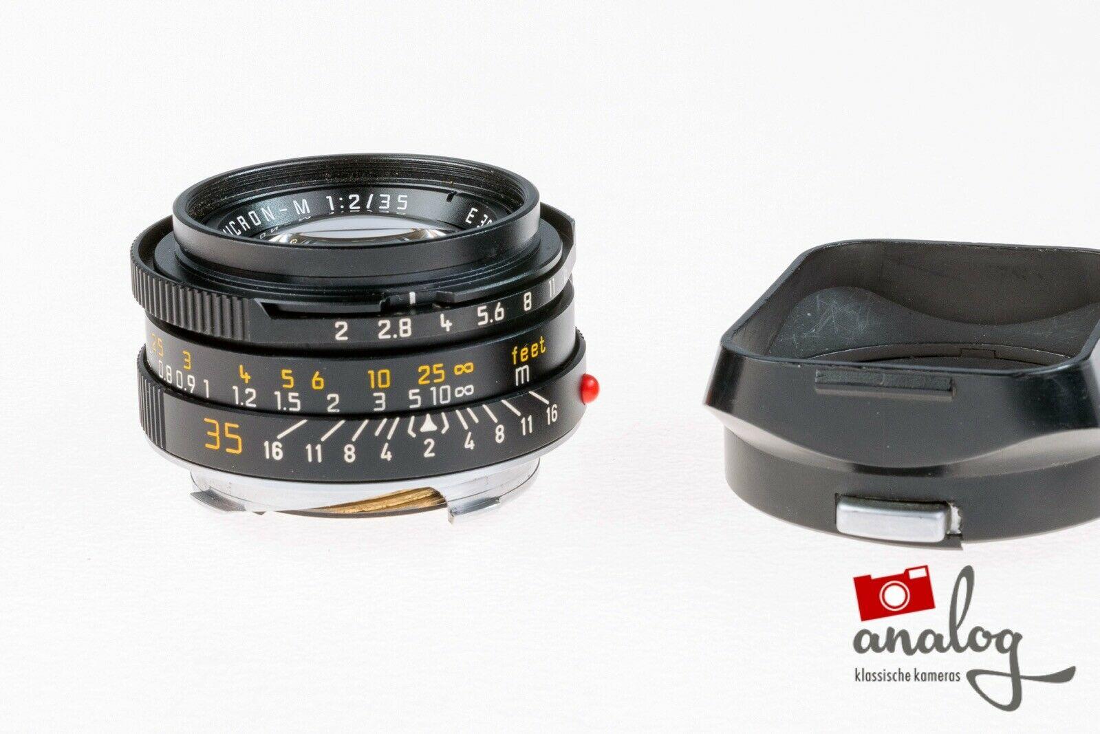 Leica Summicron-M 35mm 2.0 - 11310 - King of Bokeh - werkstattüberholt