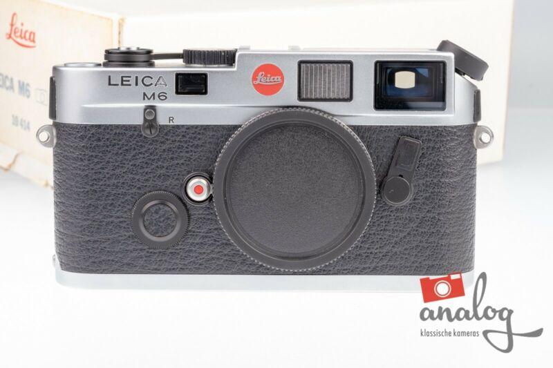 Leica M6 0.72 – 10414 – von Leica überholt