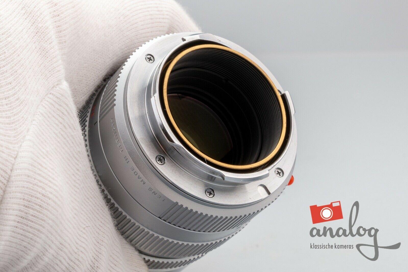 Leica Elmarit-M 90mm 2.8 silbern verchromt - 11808 - E46