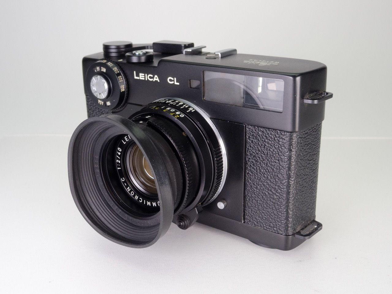 Leica CL mit Leica Summicron-C 40mm | Kameraankauf