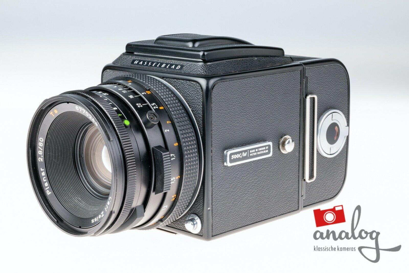 Hasselblad 500 C/M mit Zeiss Planar CF 80mm