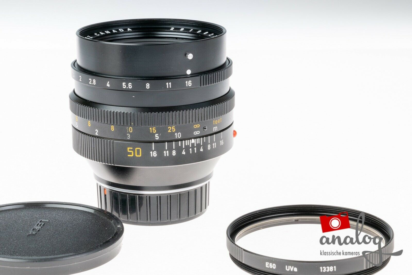 Leica Noctilux 50mm 1.0 - 11821