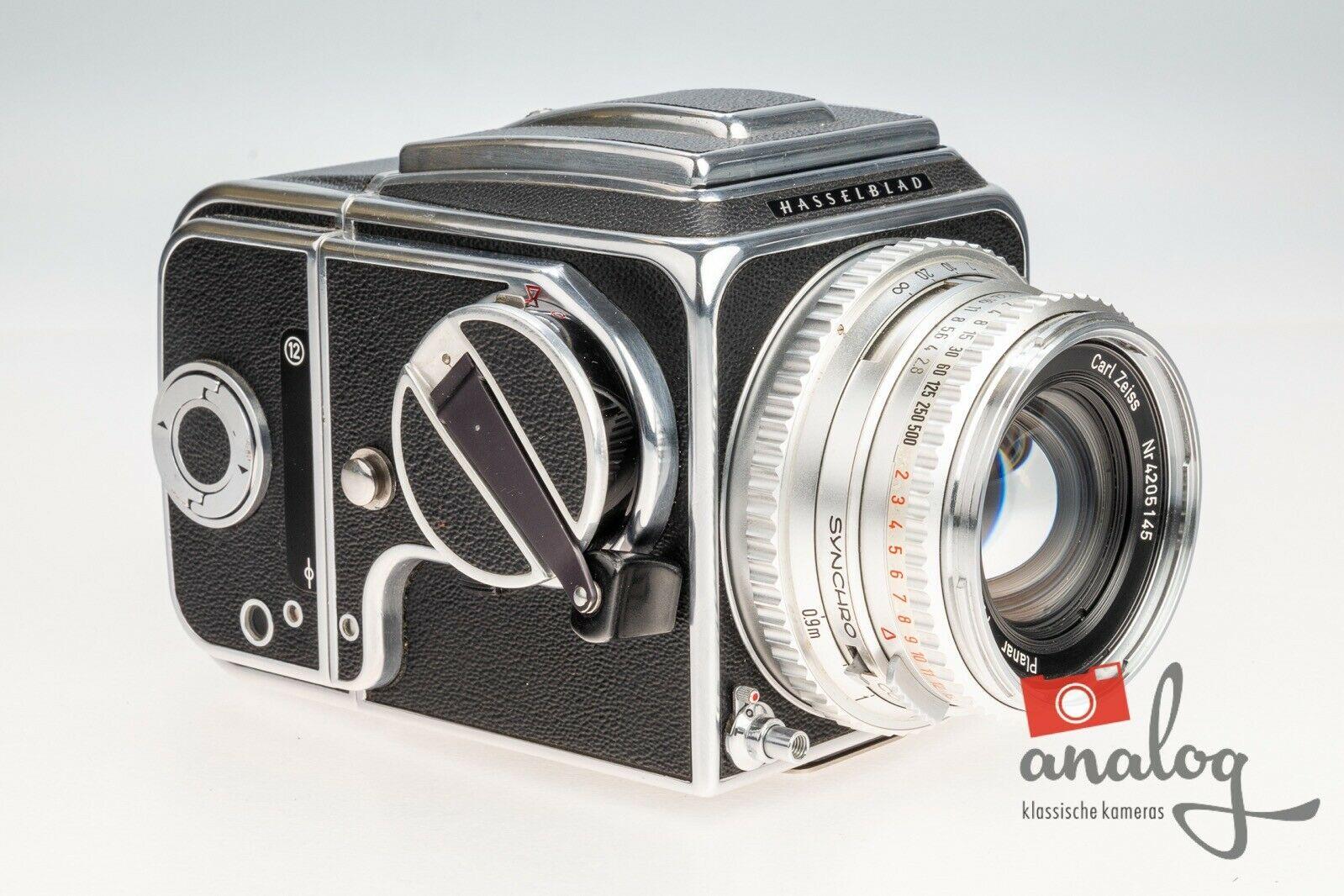 Hasselblad 500C mit Carl Zeiss Planar C 80mm 2.8 - werkstattüberholt