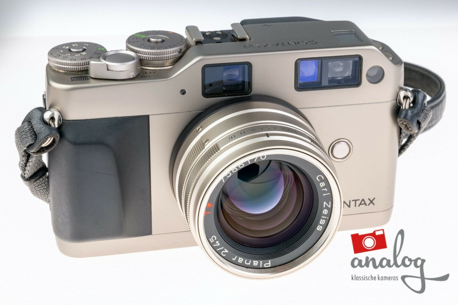Contax G1 mit Zeiss Planar 45mm 2.0