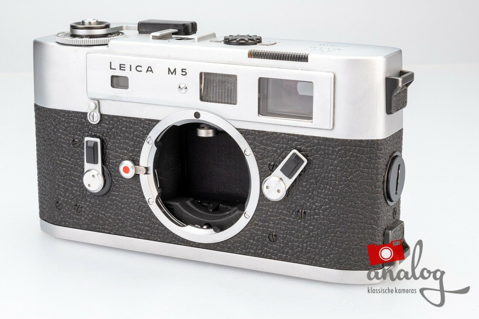 Leica M5 chrome - werkstattüberholt