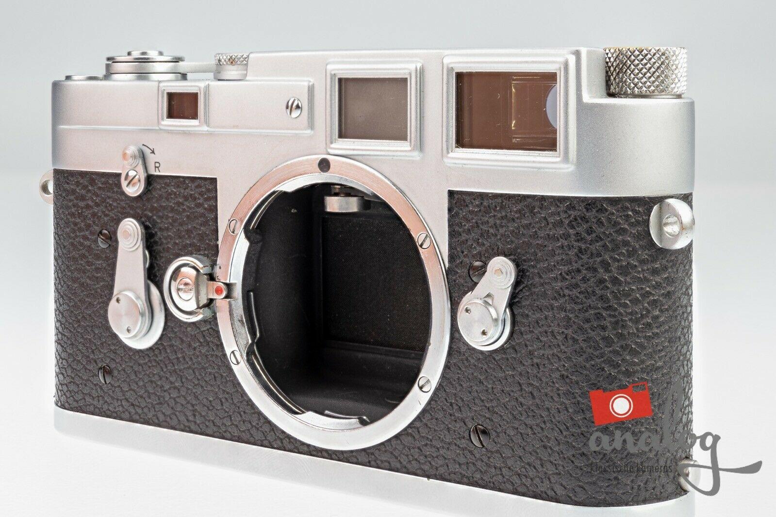 Leica M3 Single Stroke - werkstattüberholt - neue Belederung