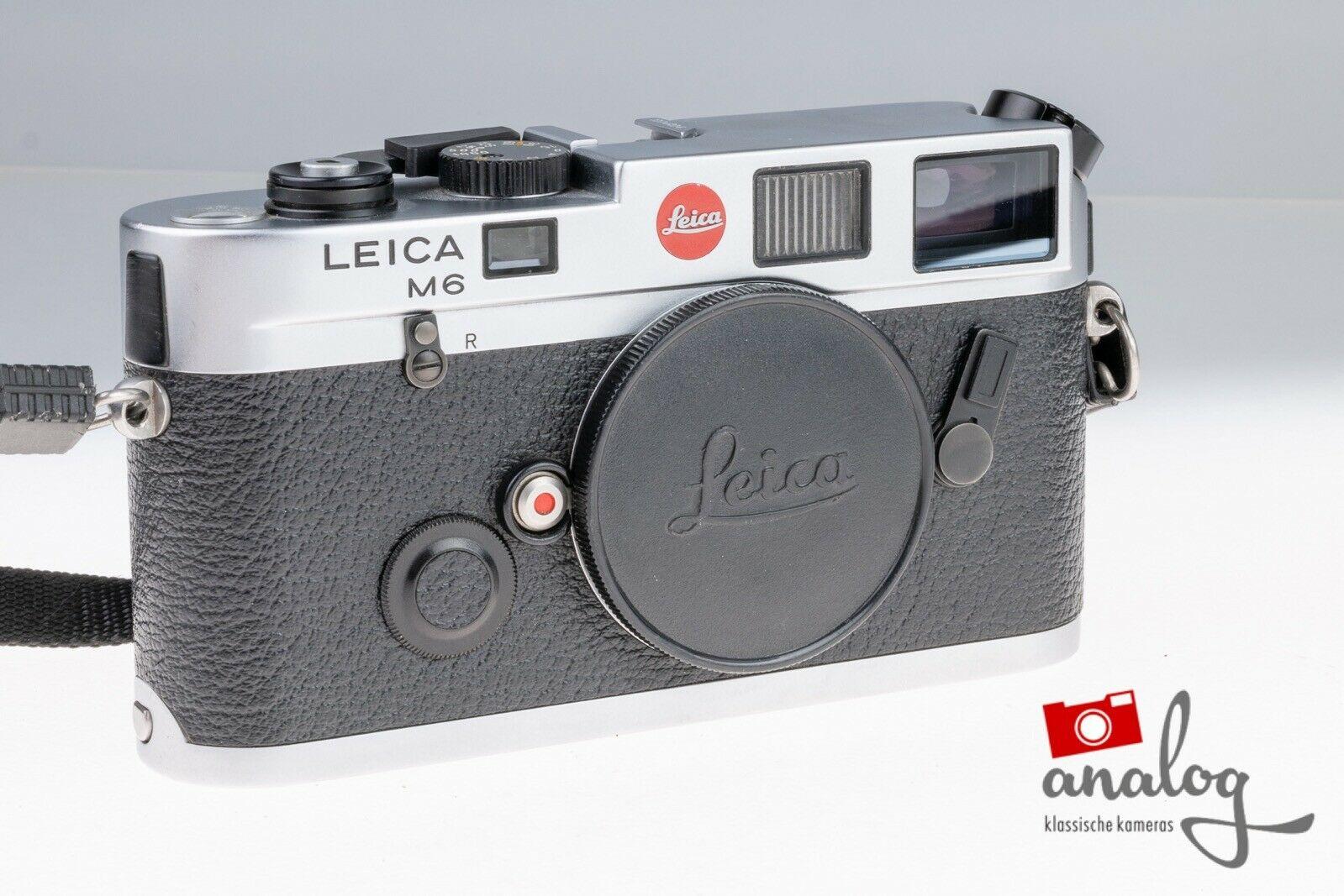 Leica M6 Panda chrom