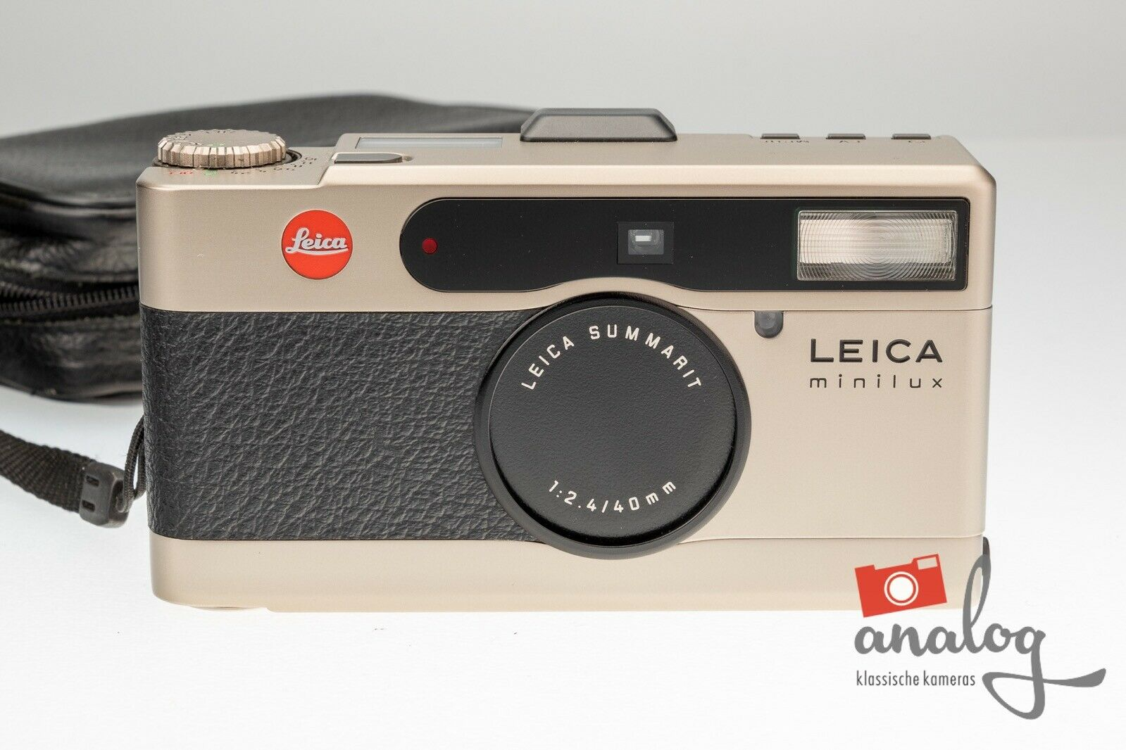 Leica Minilux mit Leica Summarit 40mm 2.4
