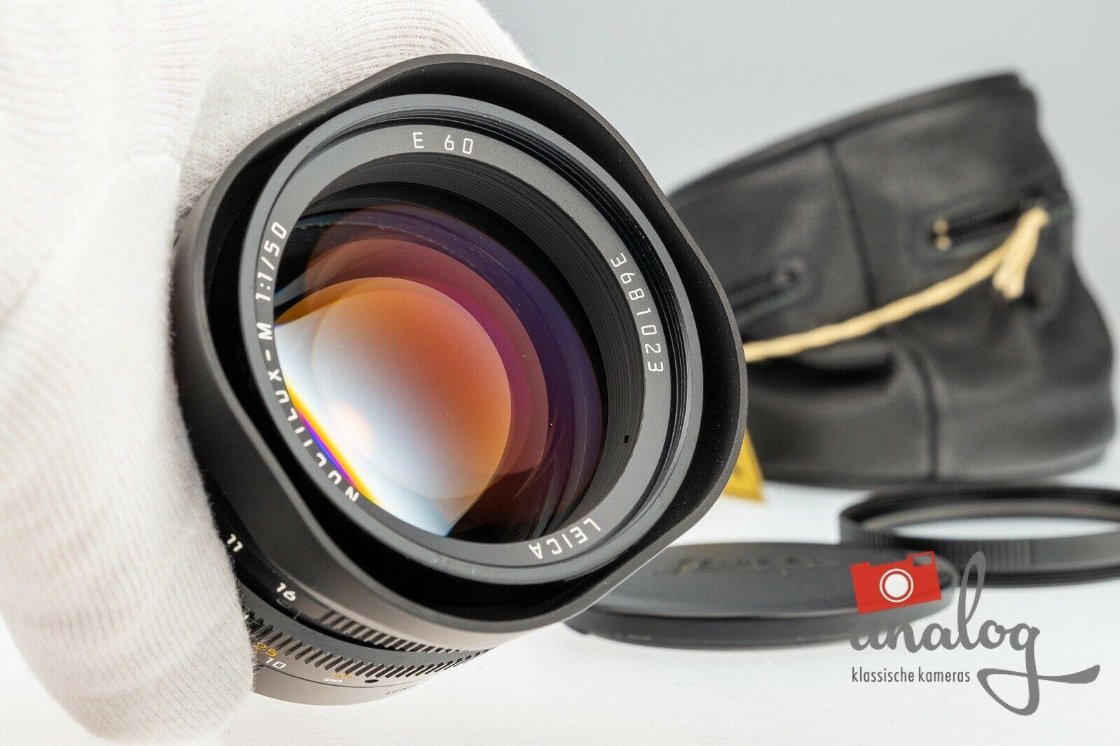 Leica M Noctilux 50mm 1.0 E60 - 4th - 11822 | Leica-Service und 6Bit | Sonderpreis