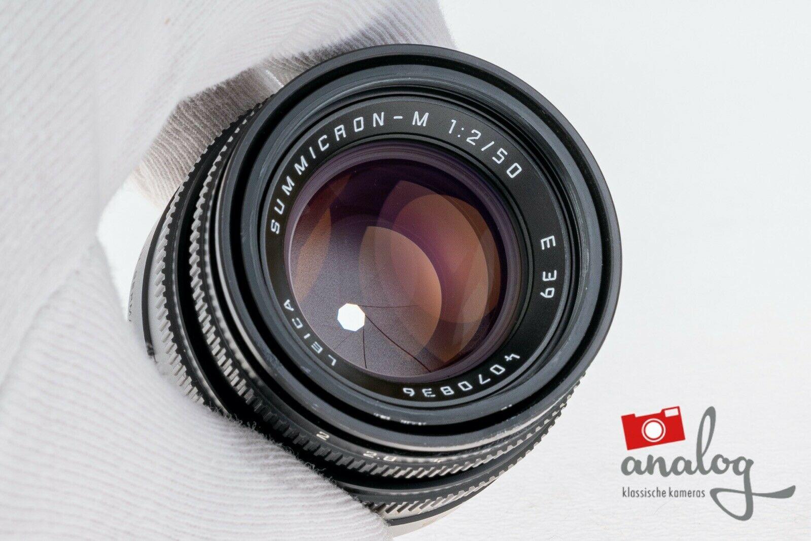 Leica Summicron M 50mm 2.0 - 11826 - werkstattüberholt