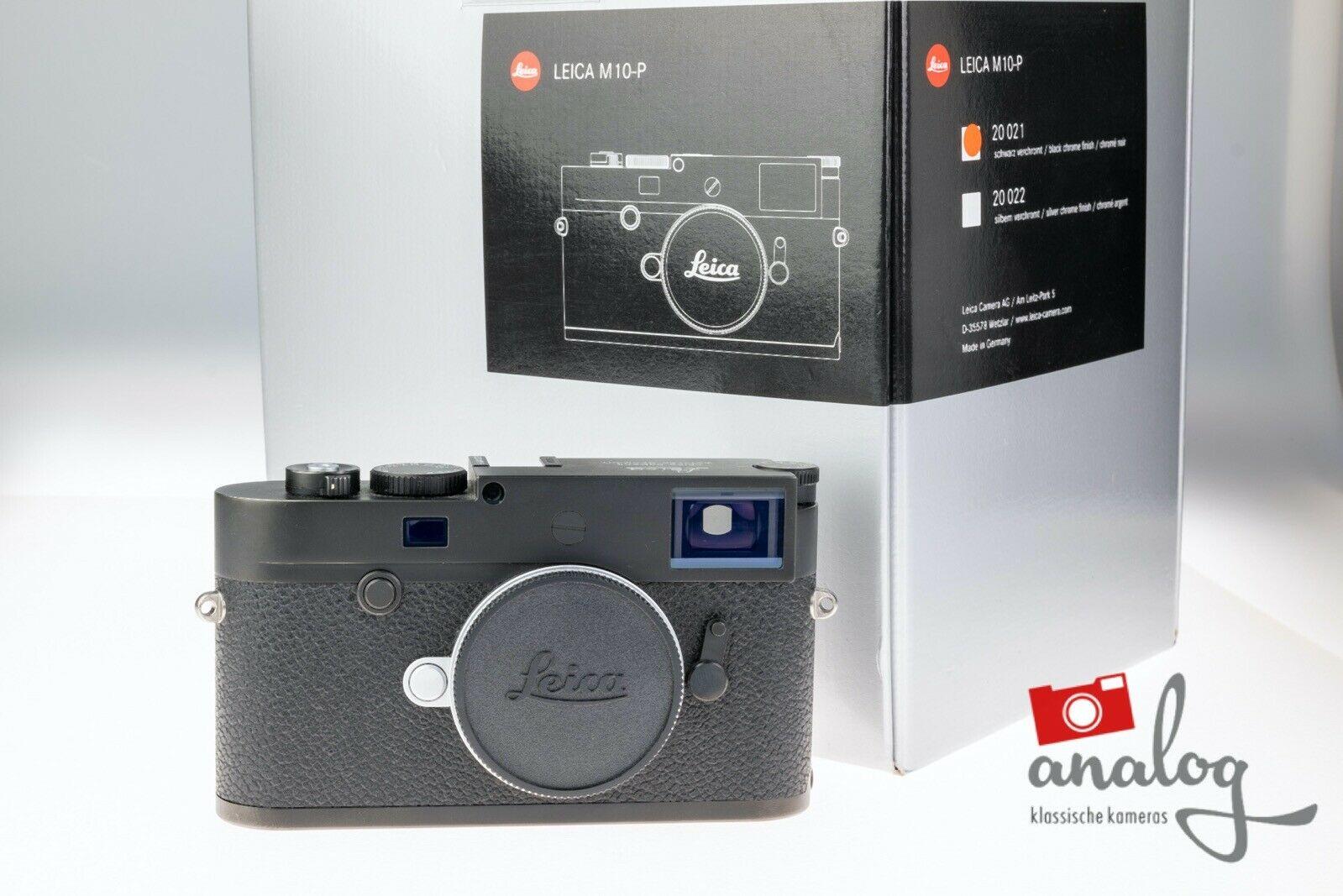 Leica M10-P schwarz Typ 20021