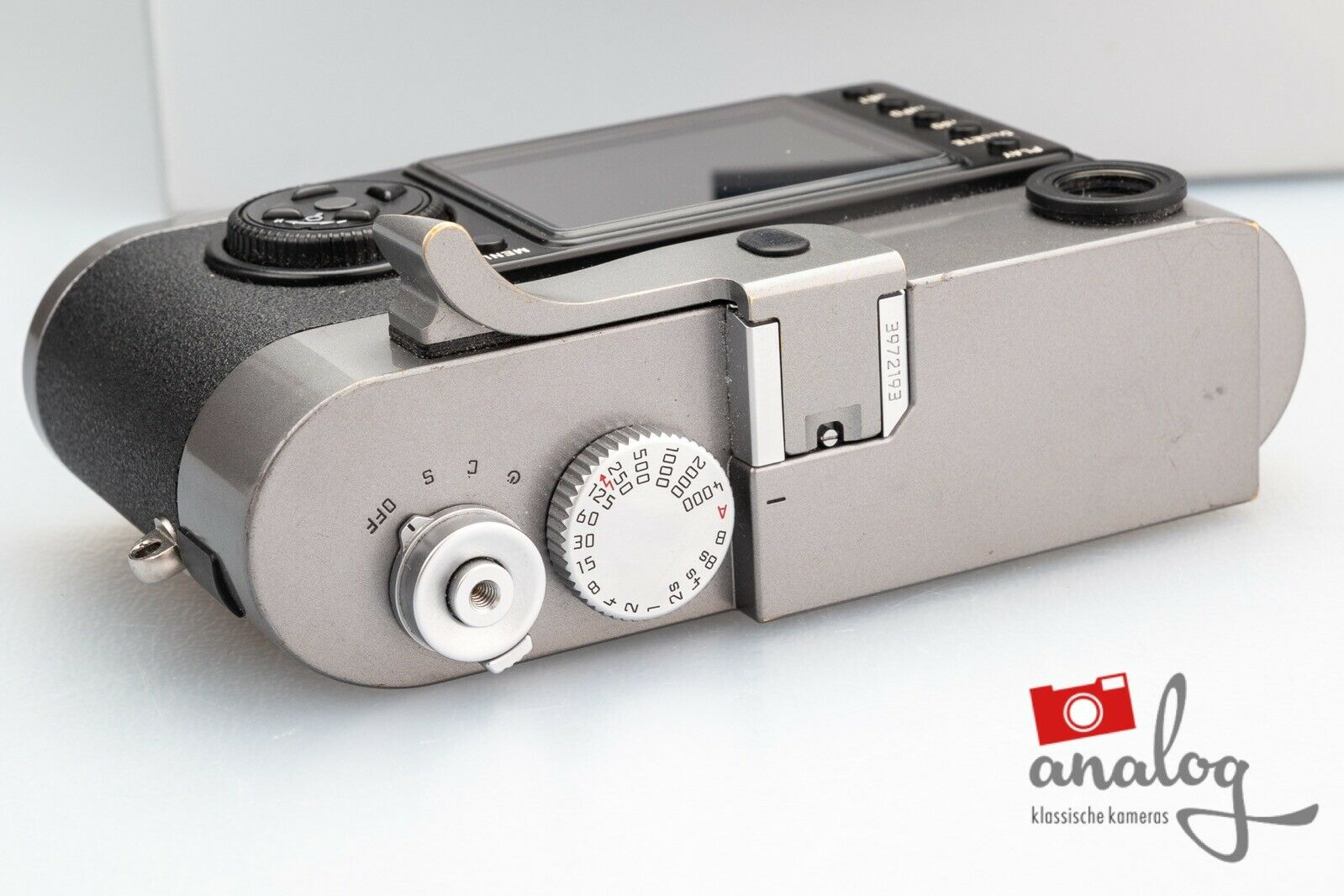 Leica M9 stahlgrau lackiert - 10705 - Sensortausch