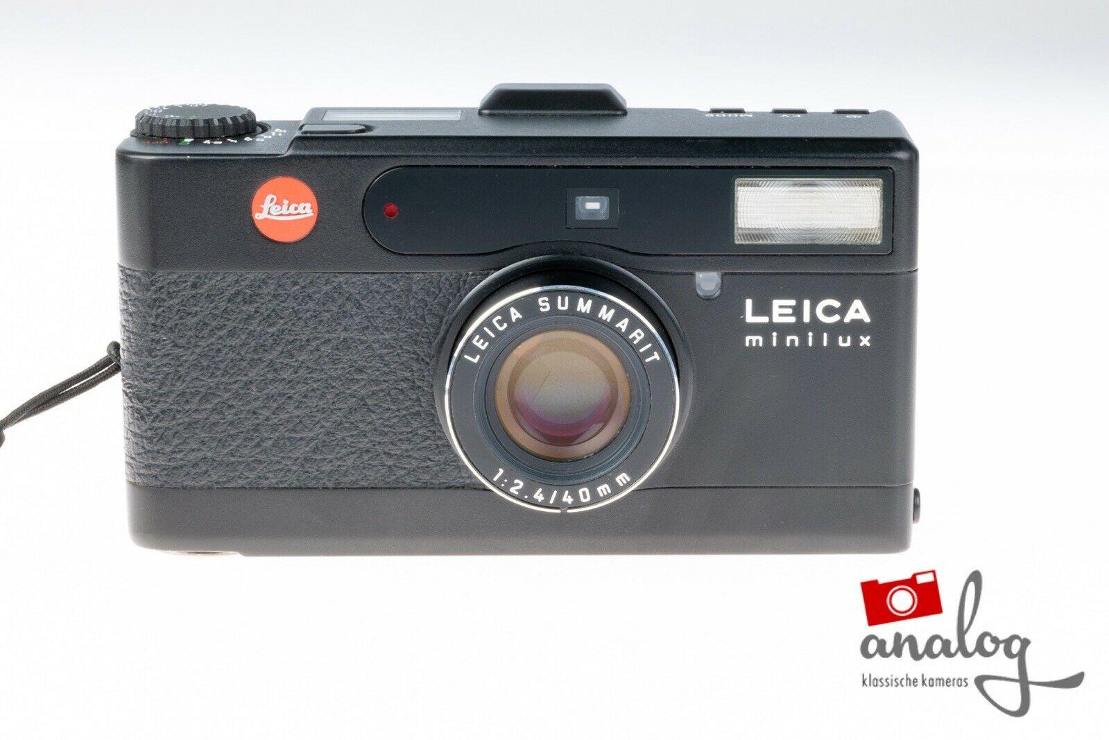 Leica Minilux black schwarz
