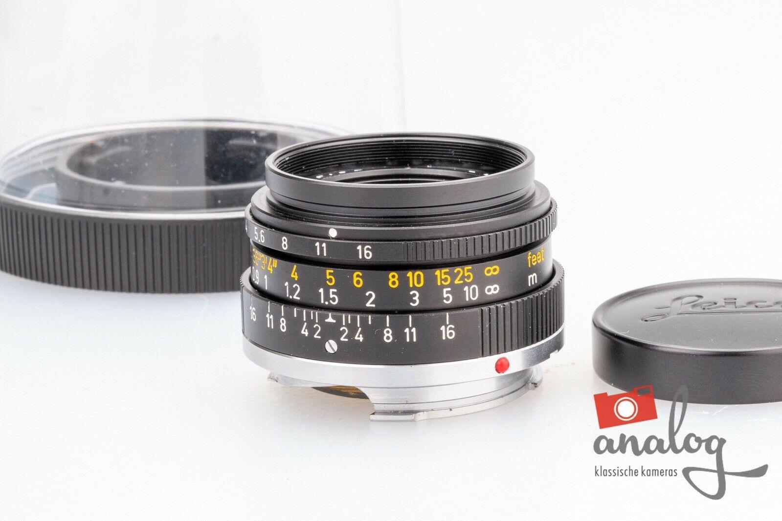 Leica Summicron 35mm - 11309 - III - werkstattüberholt