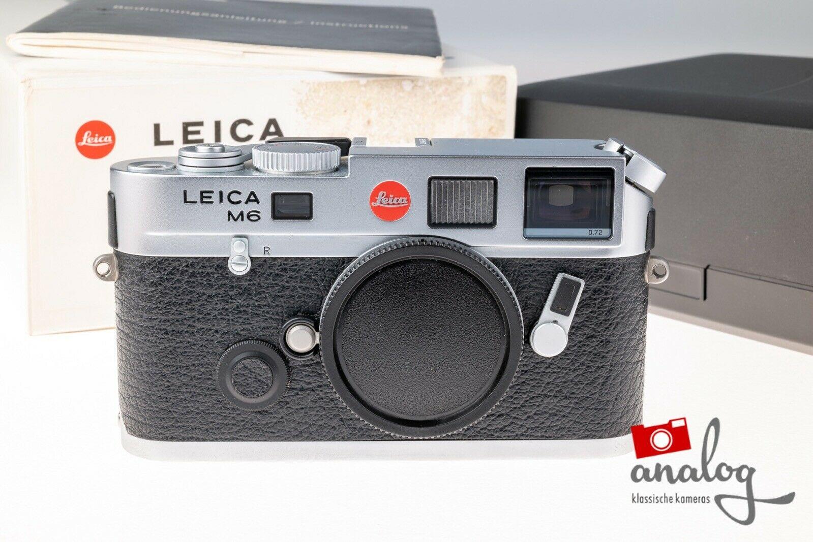 Leica M6 TTL silbern verchromt - 10434