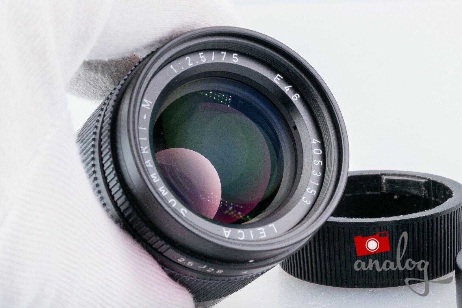 Leica Summarit-M 75mm 2.5 E46 - 11645