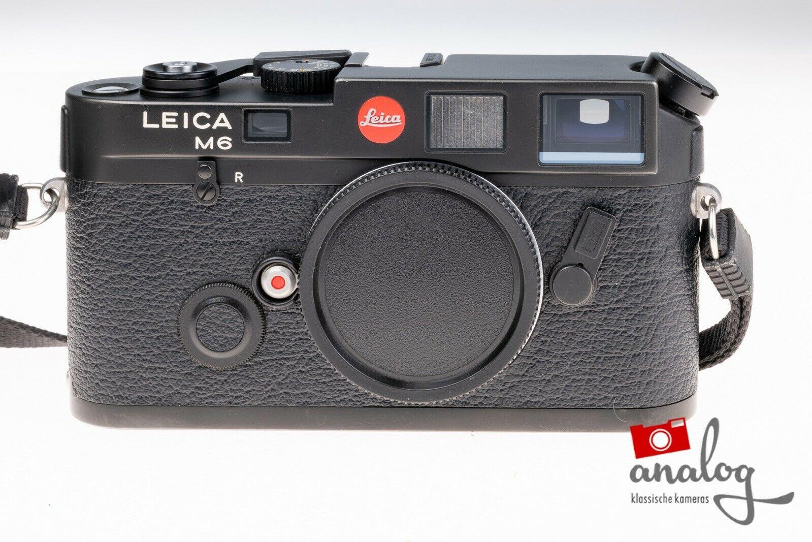 Leica M6 black - werkstattüberholt