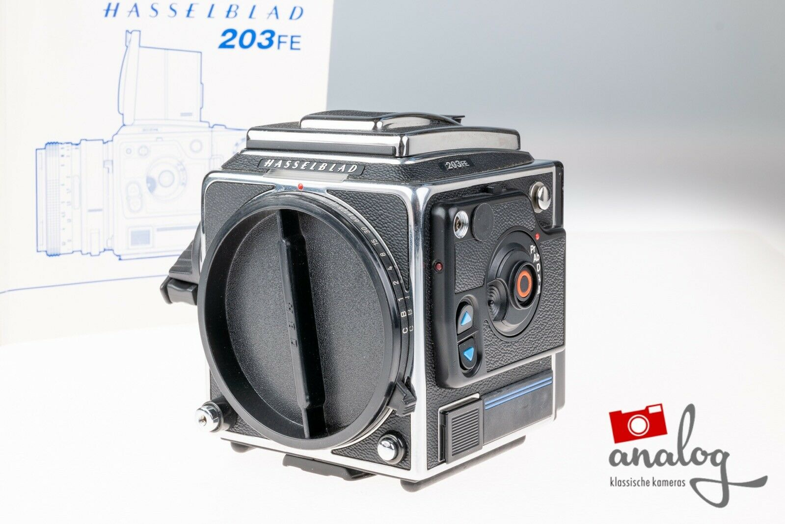 Hasselblad 203FE chrome