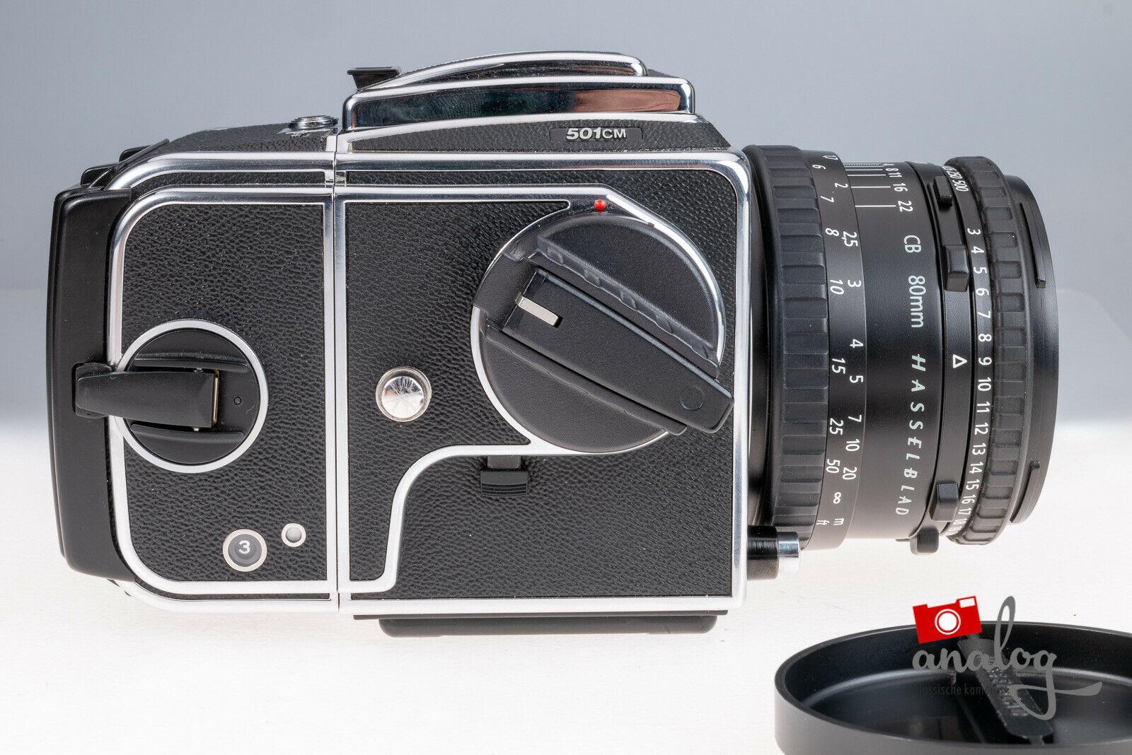 Hasselblad 501CM mit Zeiss Planar CB 80mm
