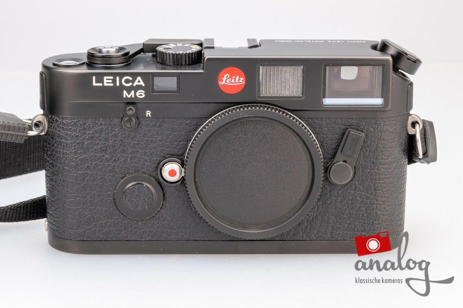 Leica M6 schwarz | werkstattüberholter TOPzustand