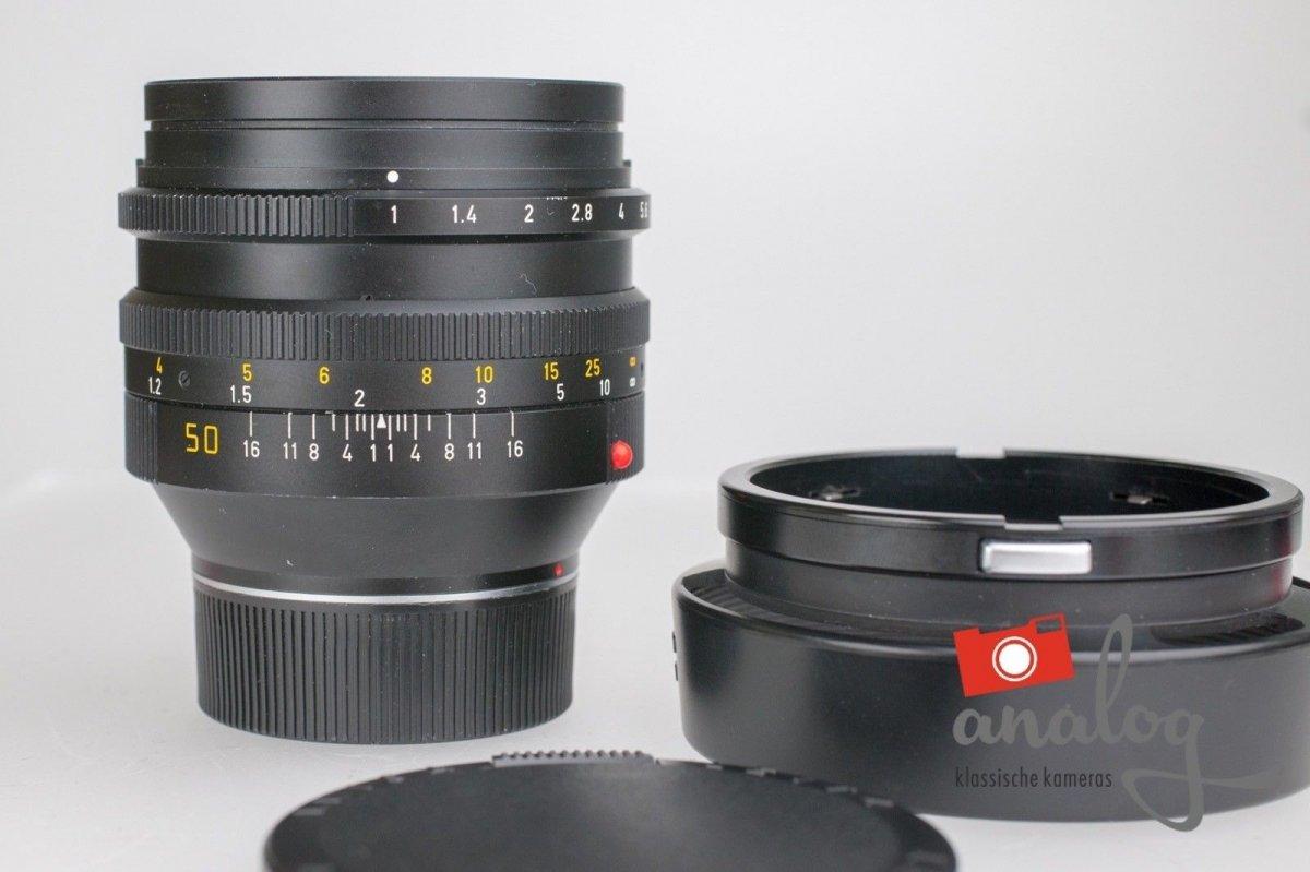 Leica Noctilux 50mm 1.0 – 11821 – E60