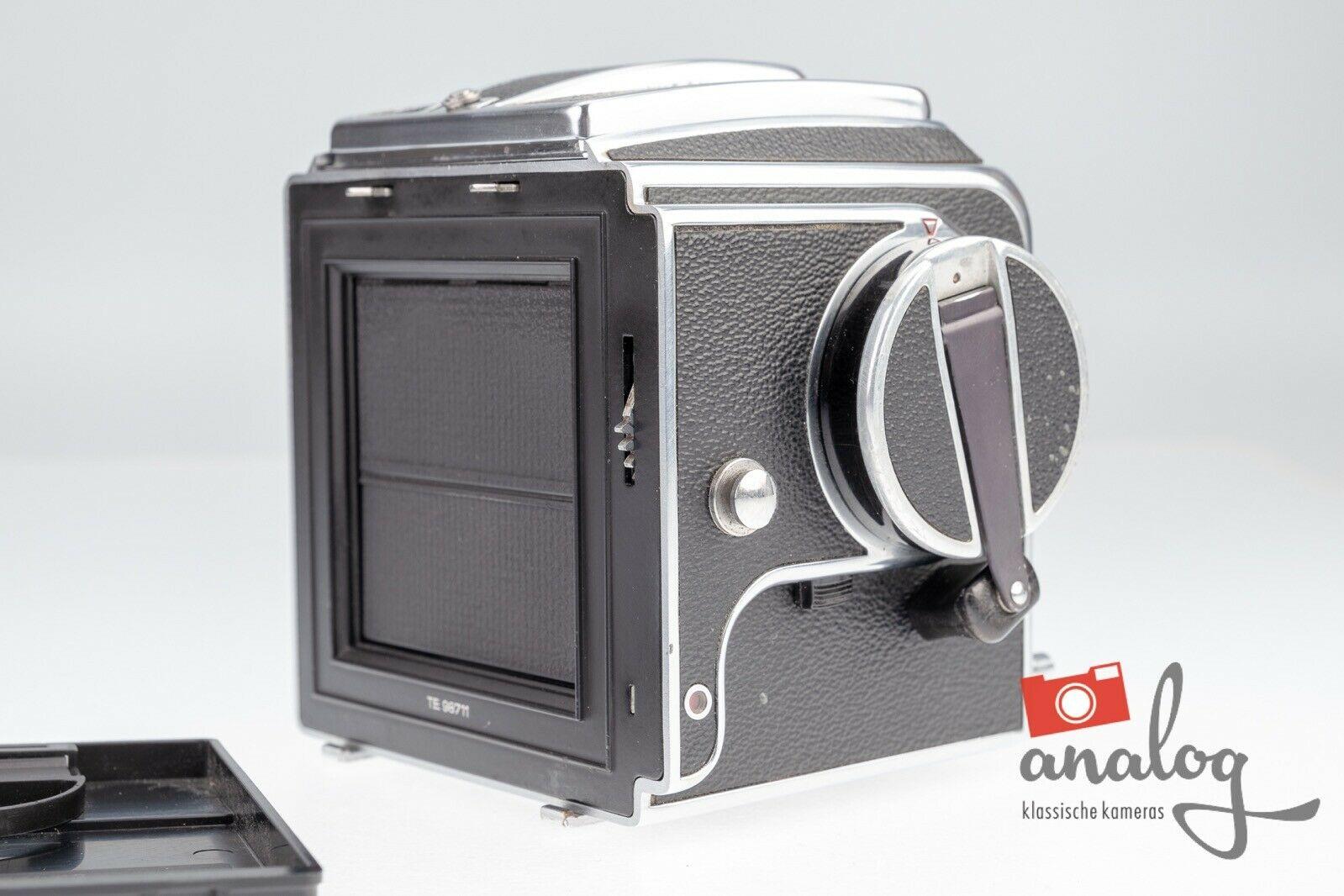 Hasselblad 500C Gehäuse chrome - werkstattüberholt