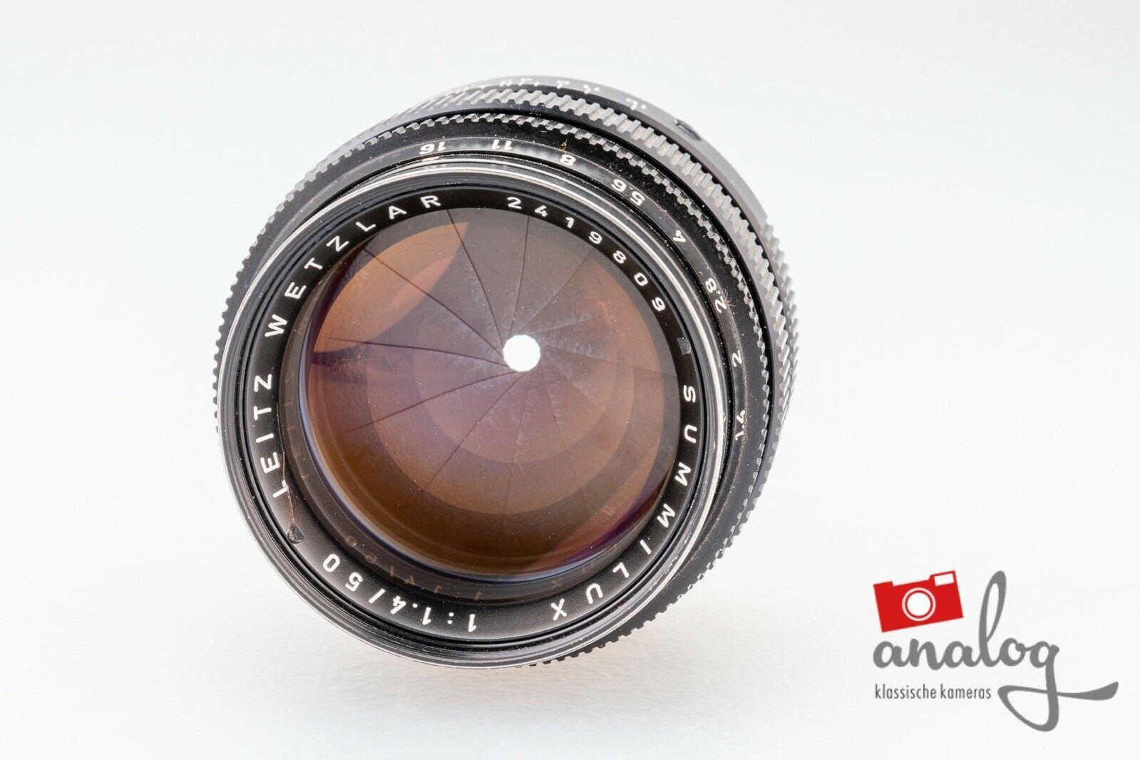 Leica Summilux 50mm 1.4 (II) - 11114 - werkstattüberholt