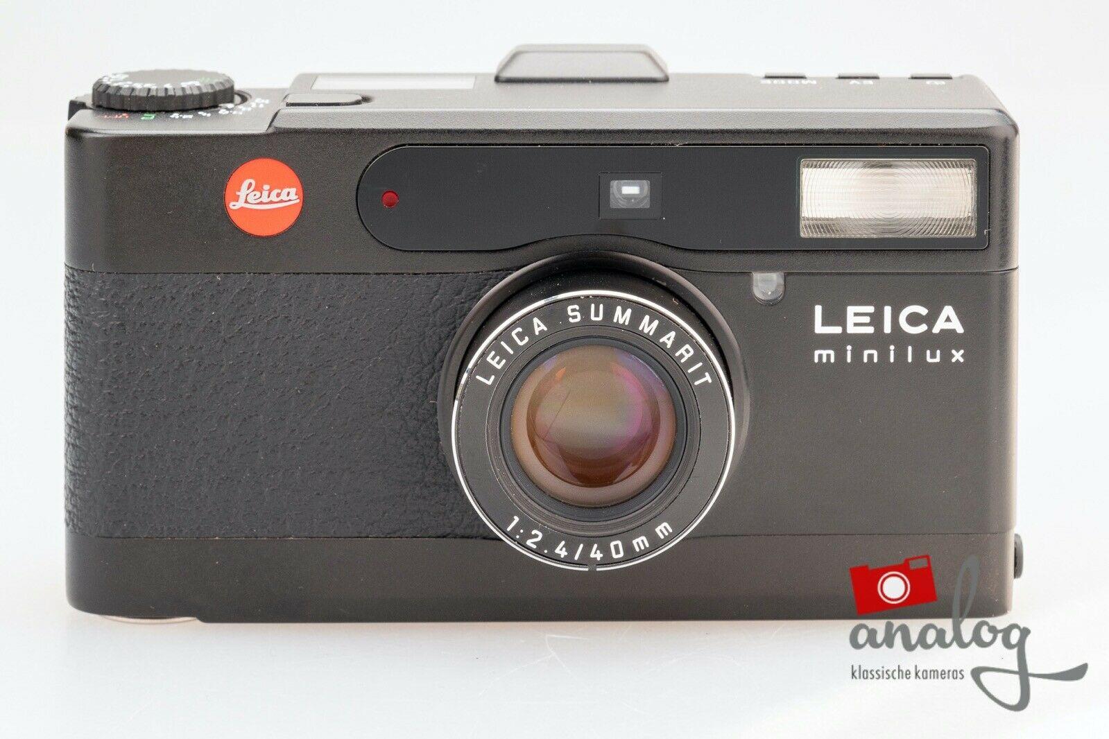 Leica Minilux schwarz Summarit 40mm 2.4