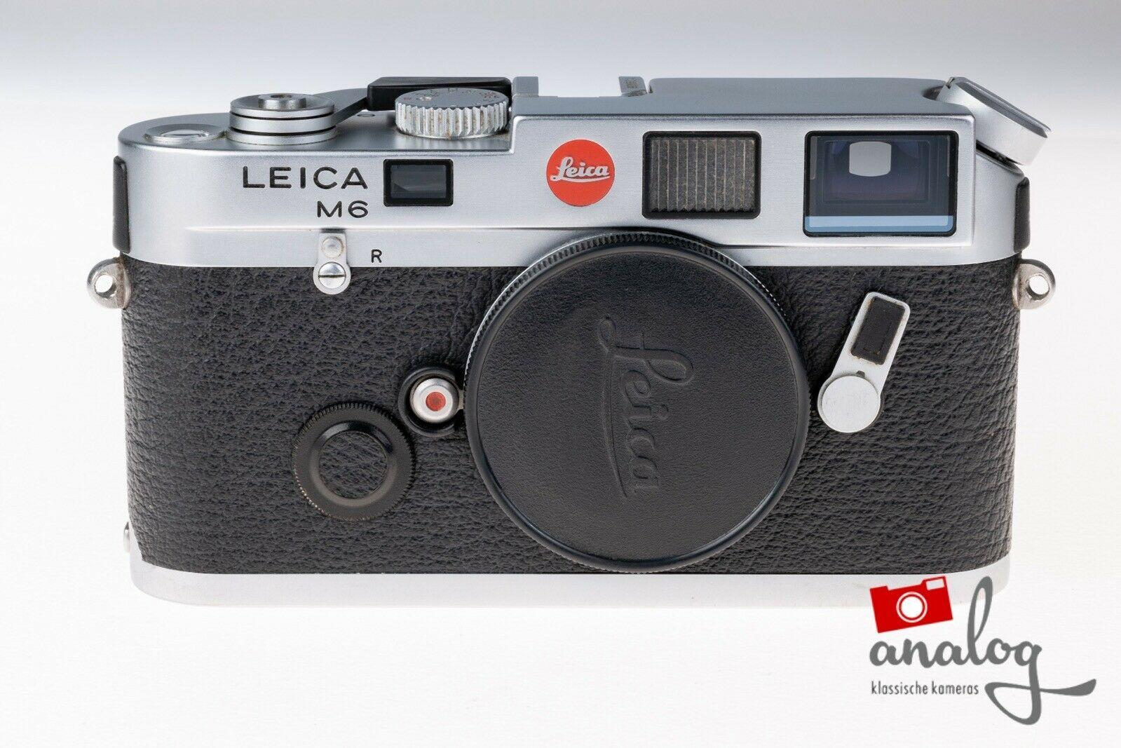Leica M6 chrom - werkstattüberholt - Topzustand