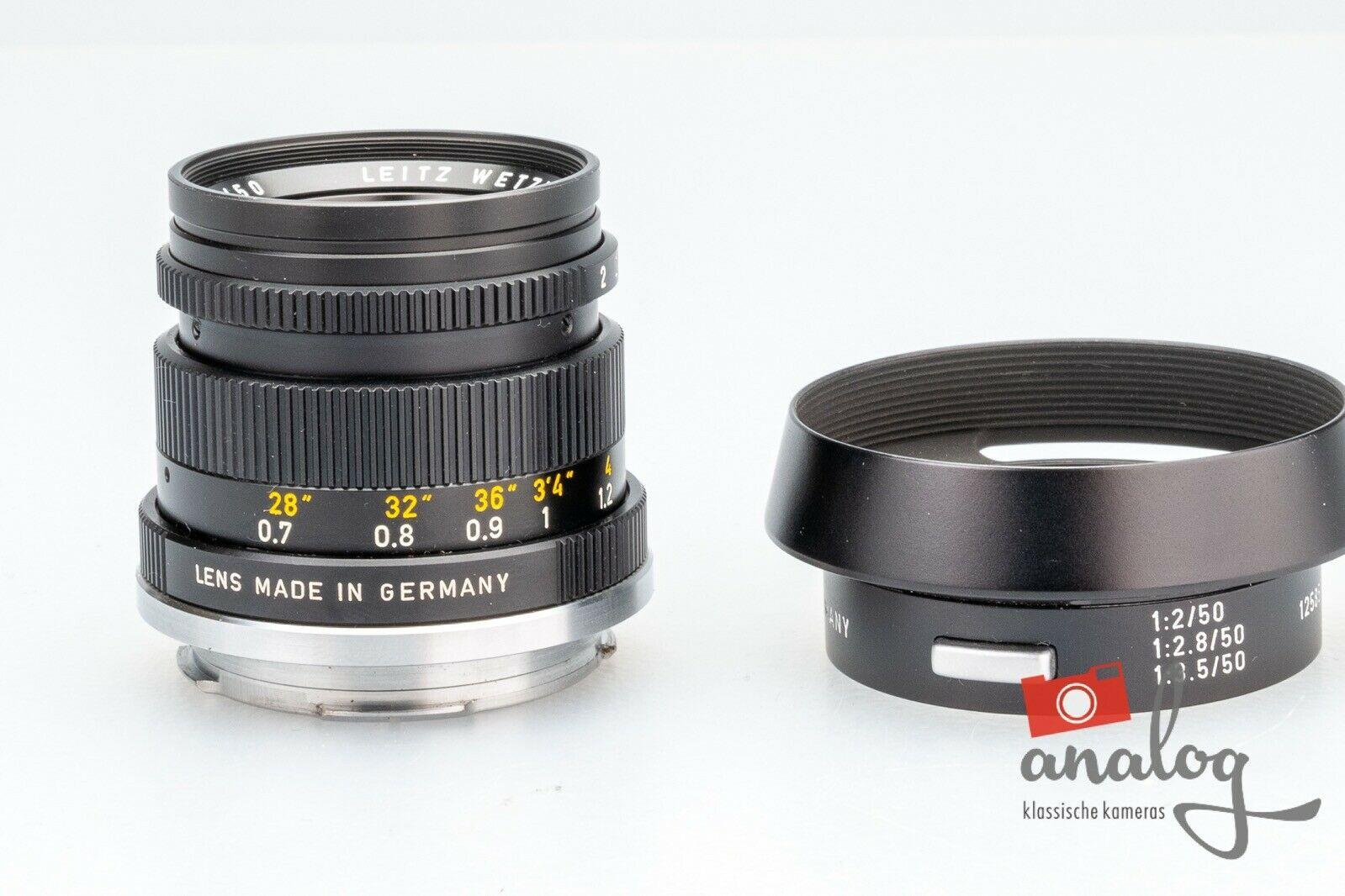 Leica Summicron 50mm 2.0 - 11817 (III)