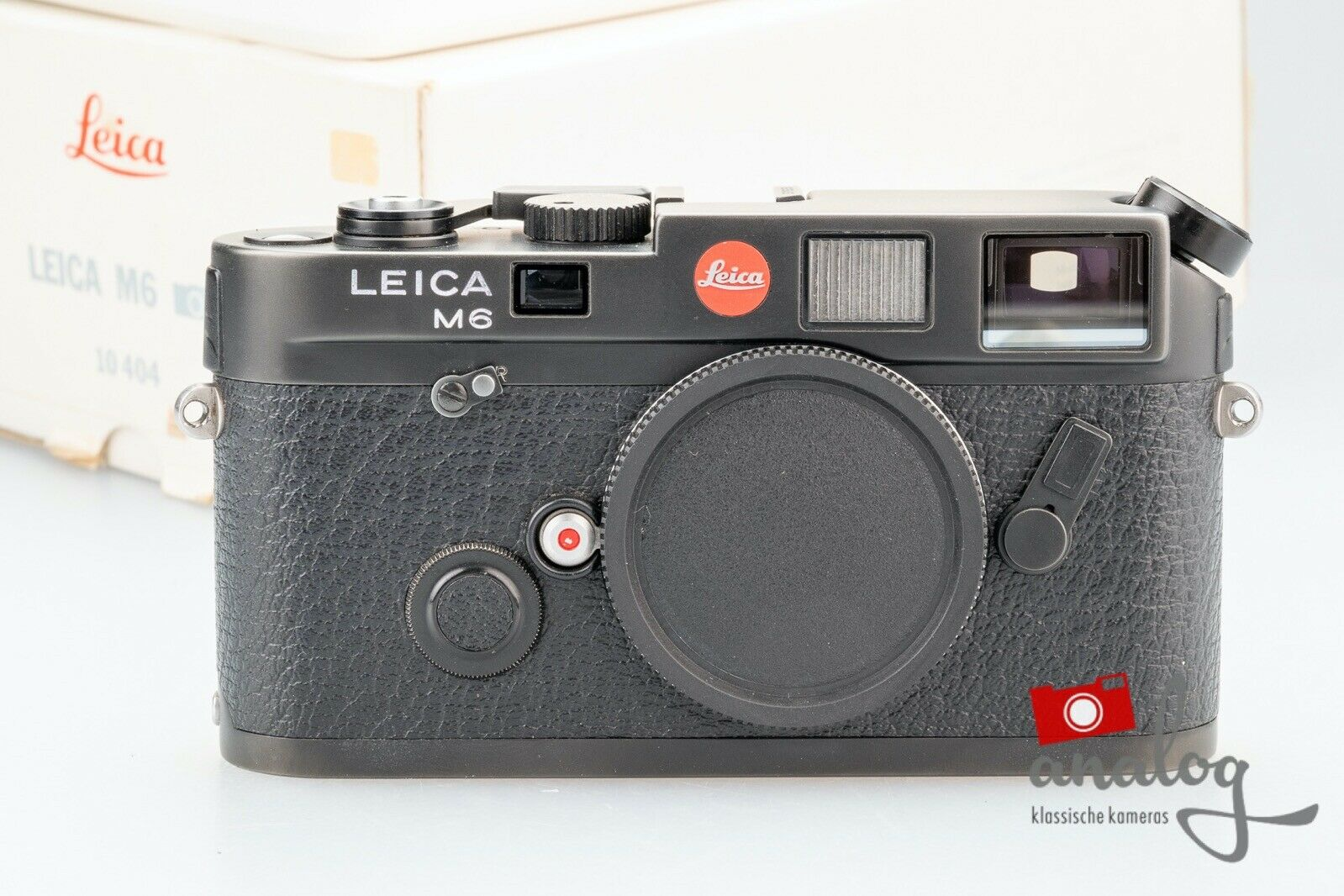 Leica M6 schwarz