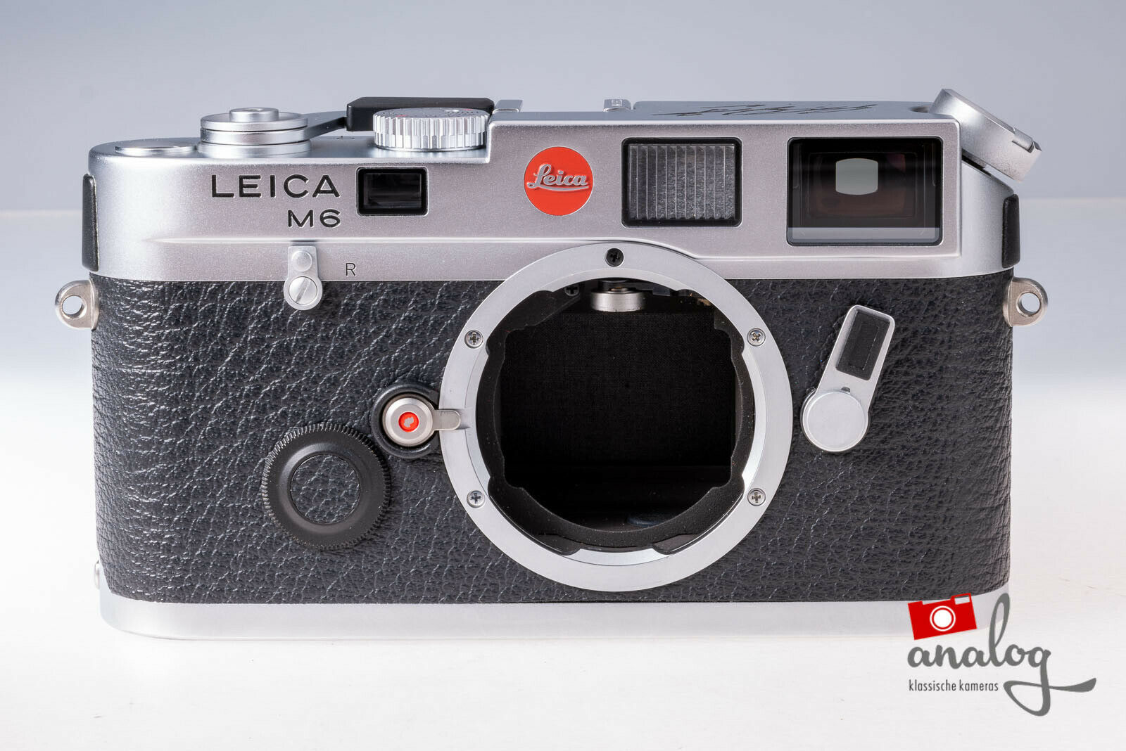 Leica M6 silbern verchromt - 10434   werkstattüberholt