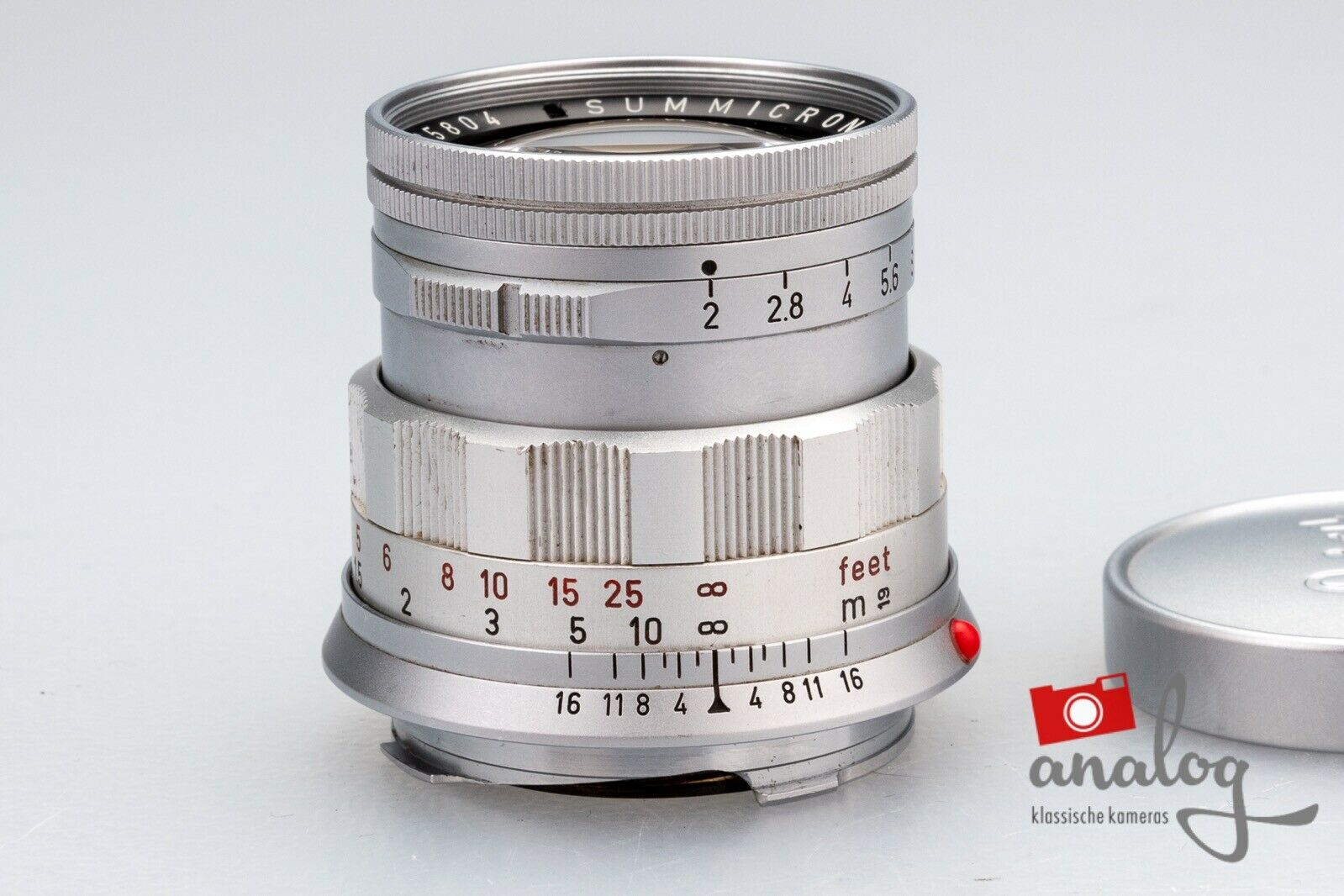 Leica Summicron 50mm 2.0 (II) - 11818 - für Leica M - werkstattüberholt