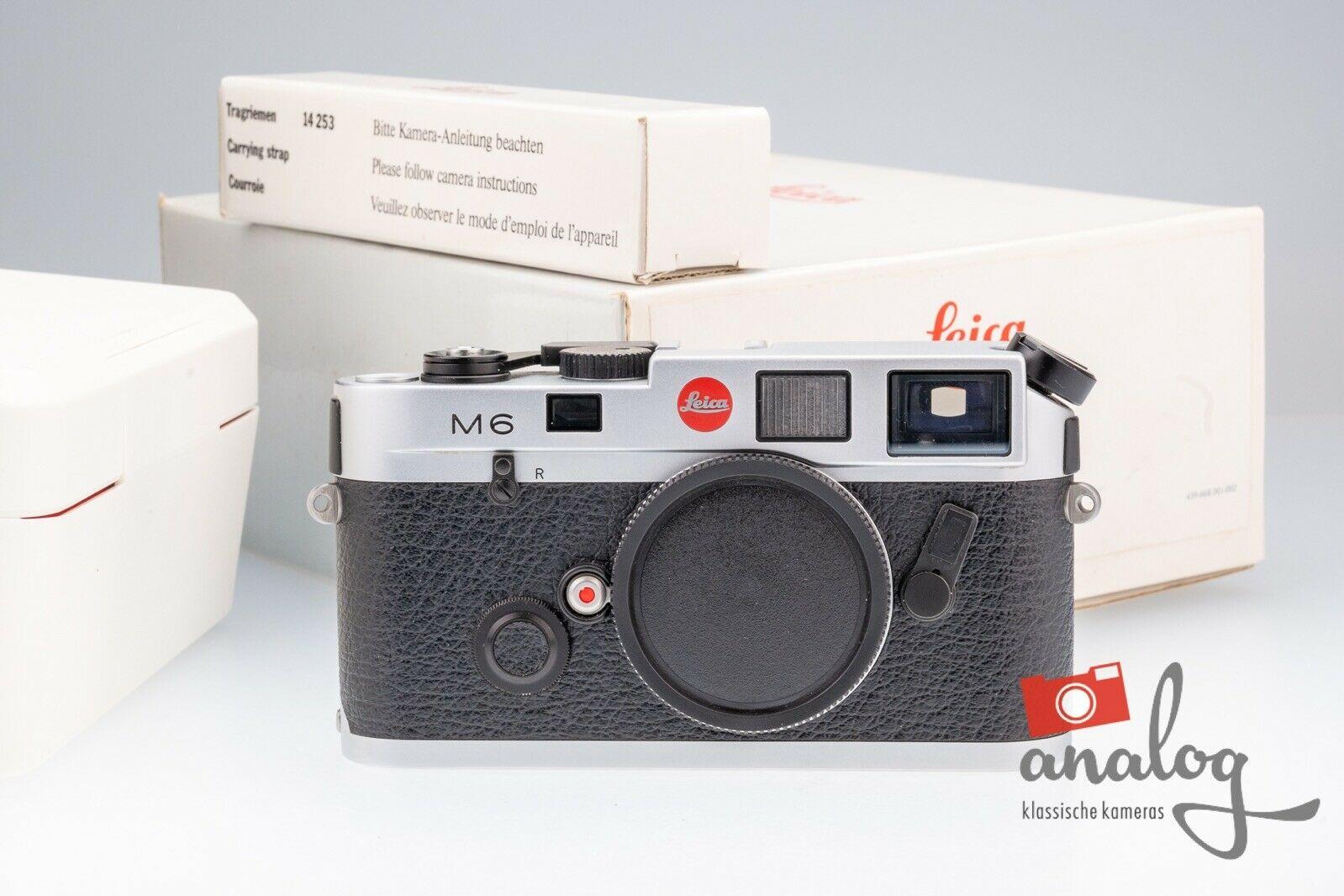 "Leica M6 ""Panda"" - 10414 - ""Big Letter"""