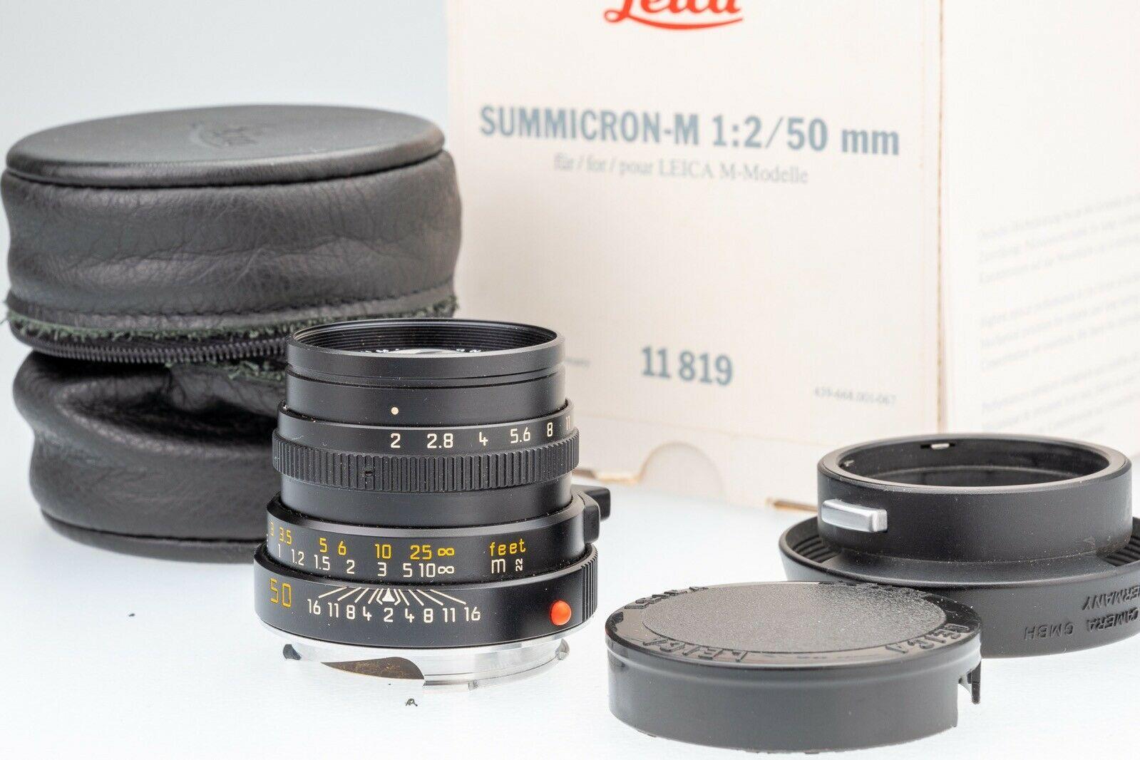 Leica Summicron-M 50mm 2.0 - 11819 - E39 Version IV
