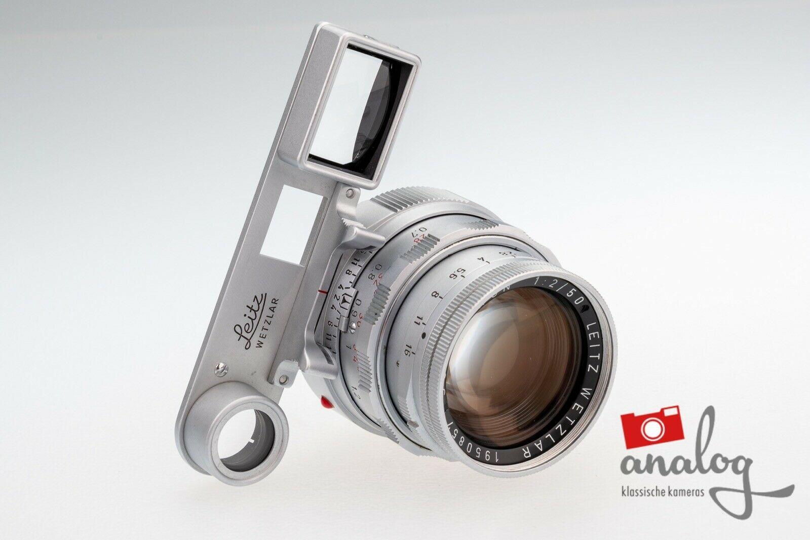 Leica Summicron 50mm 2.0 Dual-Range - 11918 - werkstattüberholter Topzustand