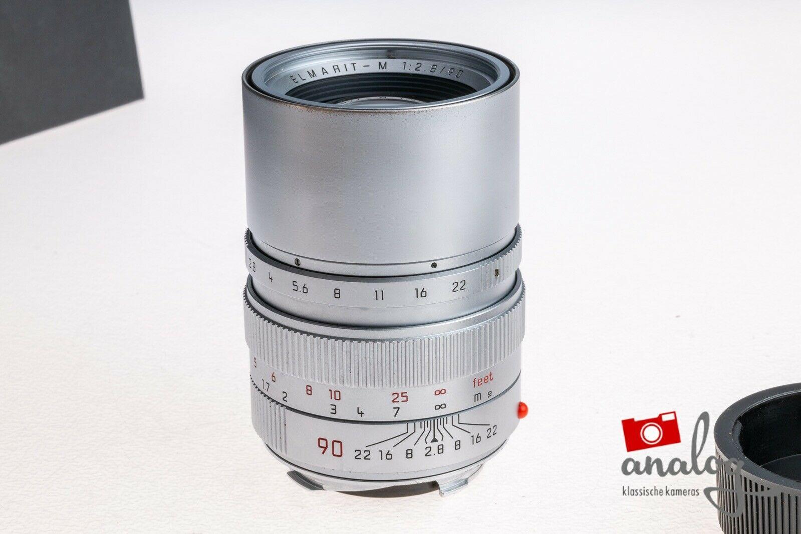 Leica Elmarit-M 90mm 2.8 chrome - 11808