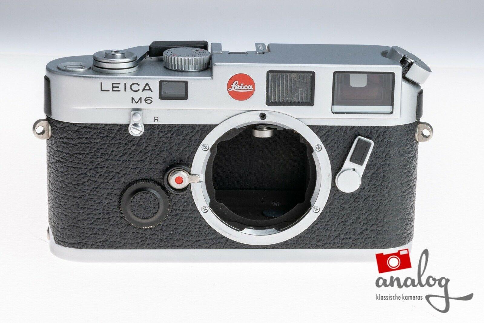 Leica M6 chrome