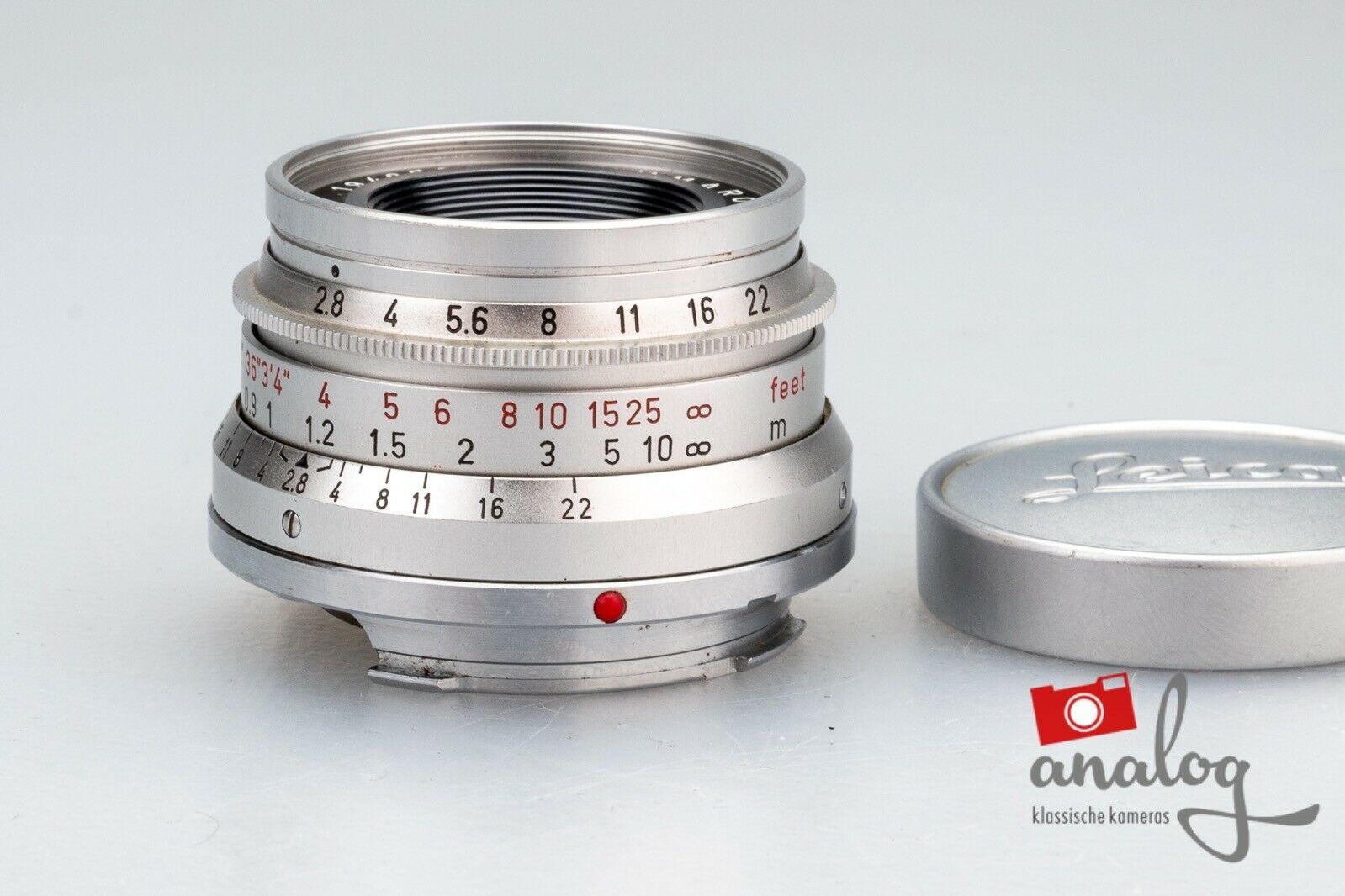 Leica Summaron 35mm 2.8 - 11306 - SIMOM-M - werkstattüberholter Topzustand
