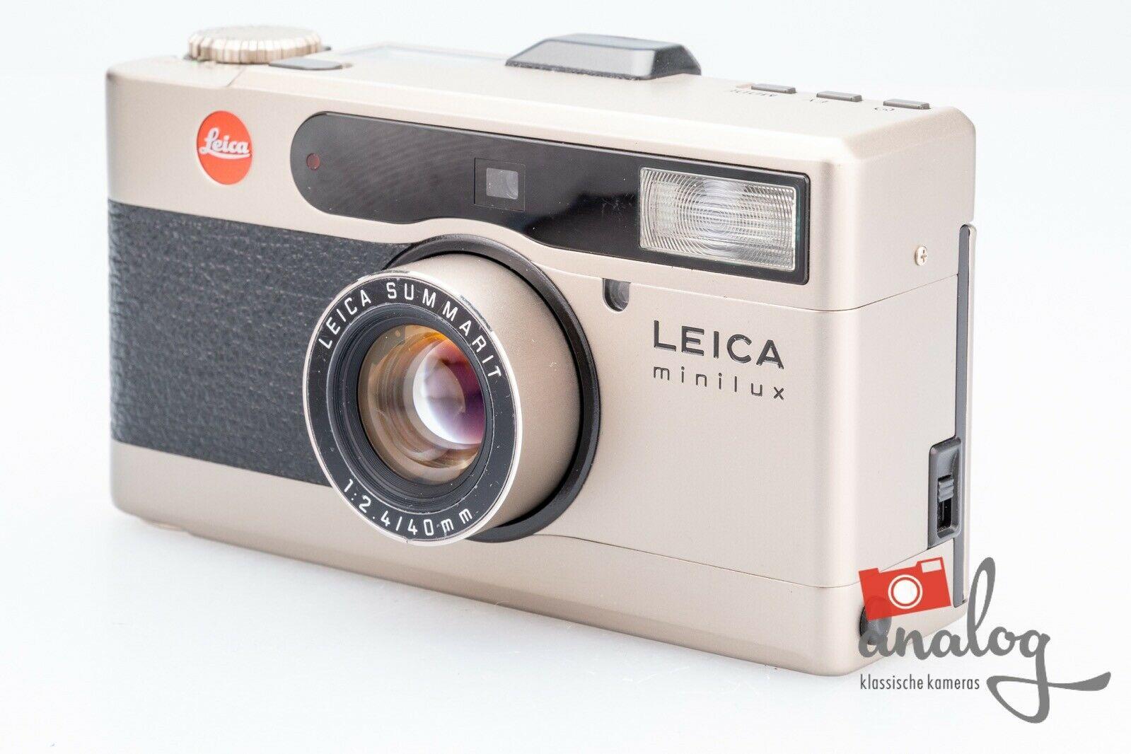 Leica Minilux, Leica Summarit 40mm 2.4